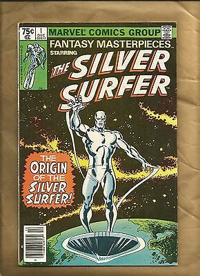 Fantasy Masterpieces #1 1979 reprints Silver Surfer 1 Marvel Comics newsstand ed