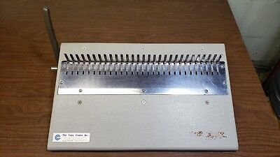 GBC General Binding Corp 16-DB Plastic comb/spine finisher Manual CombBind