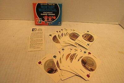 1964/65 New York World's Fair Childrens Card Game Unisphere ED-U-Cards