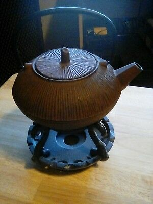 Cast Iron Japanese Teapot Tetsubin Hobnail Tea Pot Water Kettle
