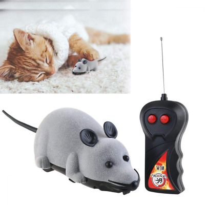 Pet Cat Electric Toys Teaser Cat Infrared Ray Mouse Toys Simulation Prank Toys