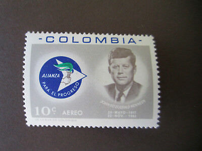 Briefmarken Colombia Kennedy