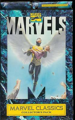 Marvels #1 & 2-Collector Pack-New-1994-1St Prntg-Fully Painted Art By Alex Ross
