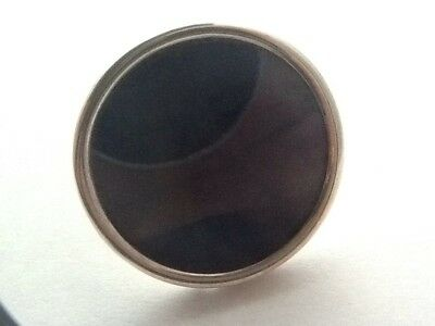 Lovely Silver Circular Miniature Photo Picture Frame - Birmingham 1909