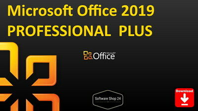 Microsoft Office 2019 Professional Plus Access Publisher Outlook Vollversion Key