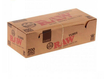 Raw Classic King Size Empty Filter tubes - 1000tubes !100%Authentic Product hemp