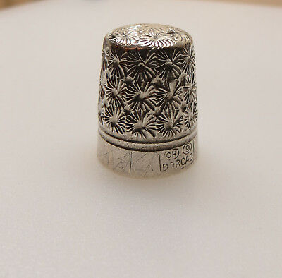 Vintage Charles Horner Thimble Ch 9 Dorcas Not Solid Silver As Has Magnetic Core