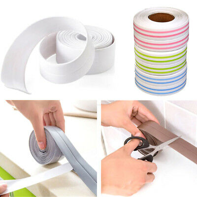 PVC Kitchen Bathroom Wall Sealing Tape Waterproof Mold Proof Adhesive Tape HU