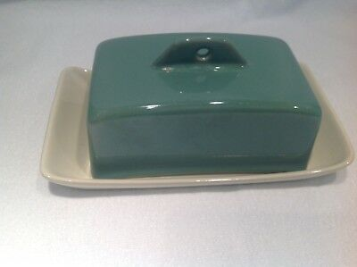 Bourne/Denby Manor Green - Butter/Cheese Dish