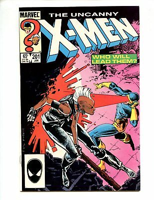 X-Men #201 (1986) 1st Cable Baby High Grade NM 9.4