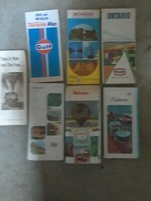 Lot Of Texaco, Shell, Sinclair, And Others Road Maps