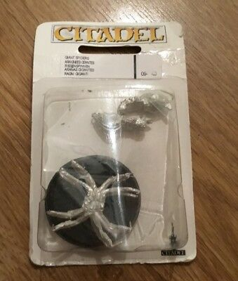 Giant Spiders. Sealed. Games Workshop. Lord of the Rings. Metal.