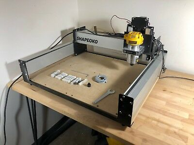 CARBIDE 3D SHAPEOKO 3 CNC with DeWalt Router and Many Extra Bits!