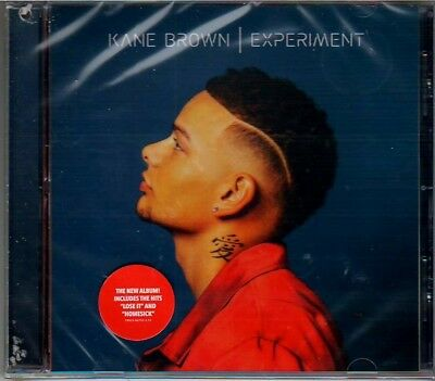Kane Brown Experiment CD - FACTORY SEALED!