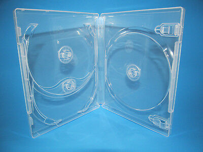 NEW! 2 Criterion Collection Triple Blu-ray Replacement Case Clear Holds 3 Discs