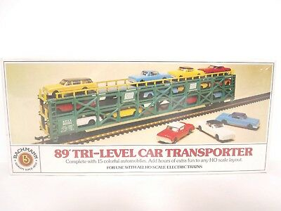 Bachmann HO ETTX Penn Central 89' Tri-Level Auto Car Transportation 46032 SEALED