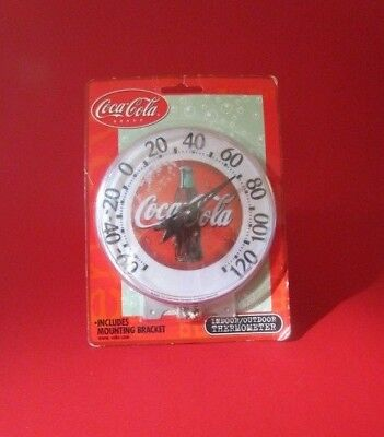 Vintage Coca Cola Round Thermometer Chaey Instrument Co. - NEW IN BOX! - RARE!