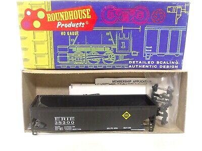 Roundhouse HO Erie Rd# 38300 3 Bay Offset Hopper Train Car Kit 1611 NEW LOOK