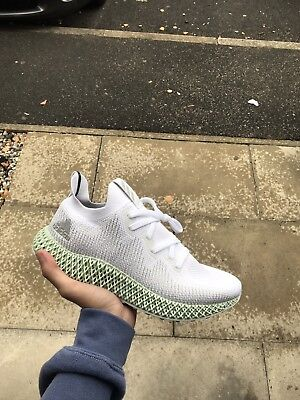 new concept f397a 81571 ADIDAS ALPHAEDGE 4D white UK9.5 US10 CONFIRMED ORDER