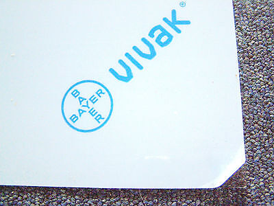 Bayer Vivak PETg 1mm Thick Crystal Clear Plasticard Sheet A5, A4 & A3