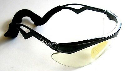 RAD Turbo AL0004 Racquetball Eyewear Protective Safety Glasses with Case