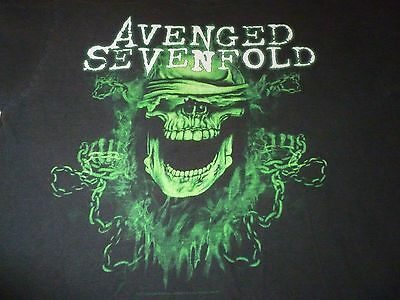 Avenged Sevenfold Tour Shirt ( Used Size L ) Good Condition!!!