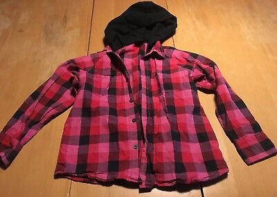 Boys Next shirt with hood age 8