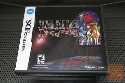 Final Fantasy Crystal Chronicles: Ring of Fates (Nintendo DS, 2008) COMPLETE!