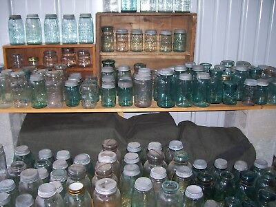 250 Antique, Vintage Fruit Jar Collection