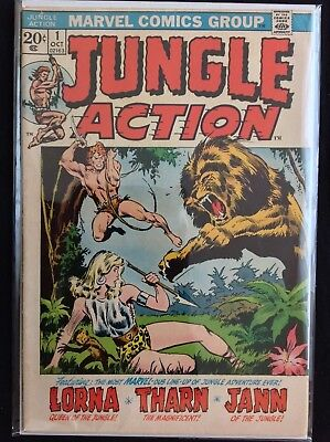 JUNGLE ACTION #1 Lot of 1 Marvel Comic Book!