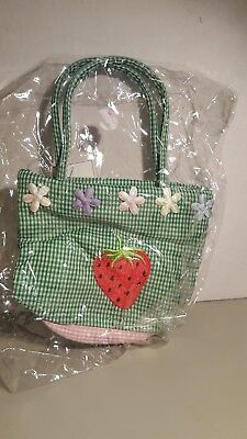 Small Girls Purse with Strawberry