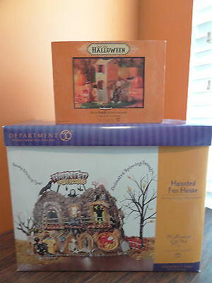 IDEO Dept 56 Haunted Fun House Come In If You Dare Animated Halloween Village
