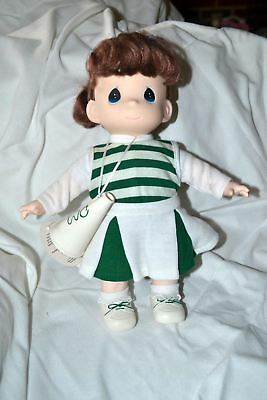 1998 Precious Moments Cheerleader Megaphone Doll 12""
