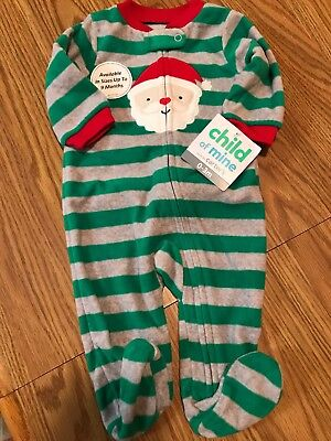 27a110c3ecf2 NWT CARTERS JUST One You Baby Christmas Santa Holiday Outfit with ...