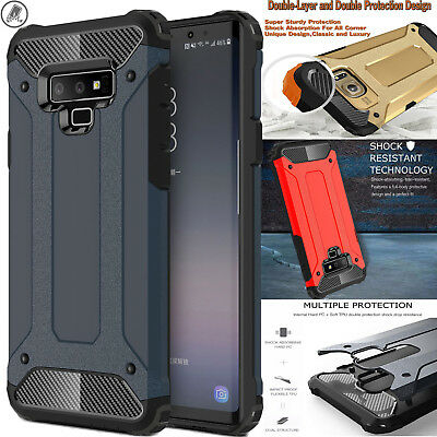 Luxury Tough Durable Defender Armor Phone Case Cover For Samsung Galaxy S9+ S8