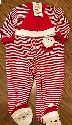 cf141da1d NWT CARTER S JUST One You Girl s 3 Months My First Christmas Outfit ...