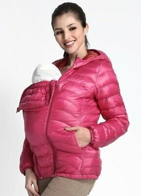 3 in 1 babywearing jacket, mamaway, pregnancy jacket, down jacket