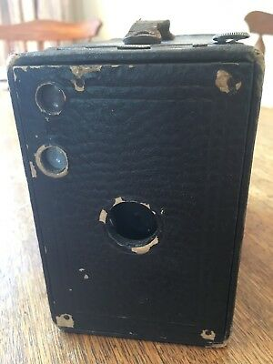 Very Early Kodak Eastman No.2A Brownie Box Camera Made in Rochester USA