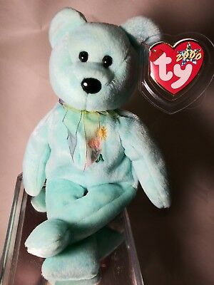 Ty Beanie Babies Ariel RARE Retired w Tag Errors 1ST EDITION BEST CHRISTMAS GIFT