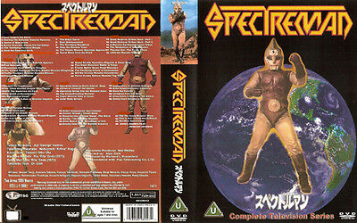 New Spectreman 11 Disc Higher Quality Uncompressed Set All 64 Episodes!