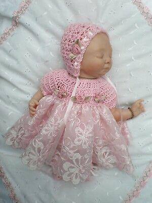 Pretty Outfit For 10 Inch Polymer Clay Doll Or Mini Reborn