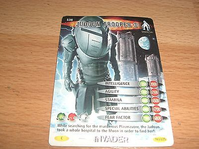 Dr Who Battles in Time Card - Judoon Trooper 3 - no. 538