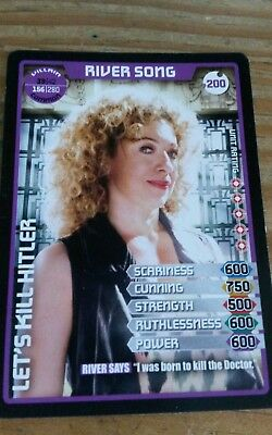 Doctor Who Monster Invasion Extreme Common Card #200 River Song