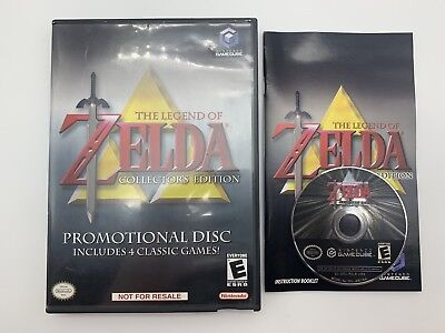 The Legend of Zelda Collector's Edition Promotional Disc- CIB - Tested & Working