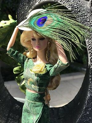 OOAK Fashion Outfit Peacock Barbie Poppy Parker