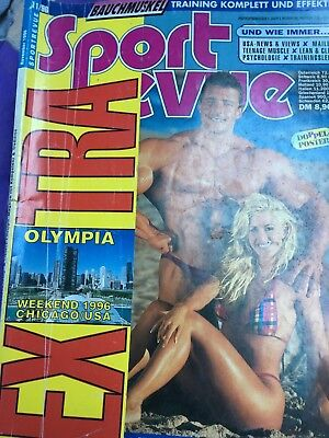 Sportrevue November 1996 mit Extra Olympia Chicago