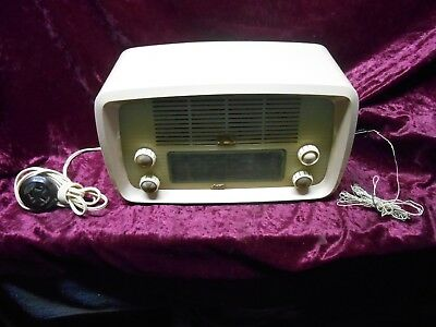 Vintage His Masters Voice Little Nipper Radio.