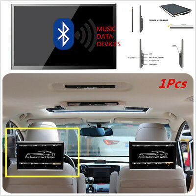Android 6.0 11.6'' HD Touch Screen Car Headrest Rear Seat Pillow Monitor WiFi FM