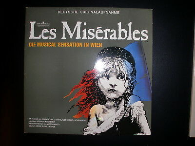 Les Miserables, Original WIen Cast - Original London Cast, 2 x Doppelalbum