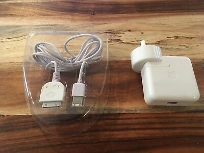 Apple iPod FireWire charger 12V A1070 + Cable for iPod A1040, A1059, A1099